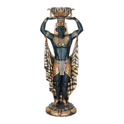 Egyptian Male Plant Holder, 6FT -
