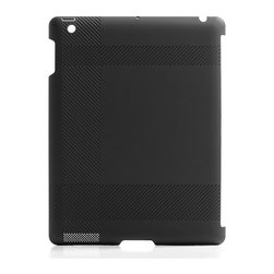 BlueLounge - Blue Lounge iPad Shell - Sometimes breaking out of your shell is a good thing. Not in this case. Made of durable black plastic with cross-hatched textures, you know can get a grip. Snap it on the back of your iPad for secure browsing, chatting, pinning and liking.
