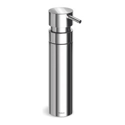 Blomus - Nexio Stainless Steel Soap Dispenser - Made of stainless steel, polished. Designed by Stotz-Design. 1-Year manufacturer's defect warranty. 1.57 in. Dia. x 6.7 in. H