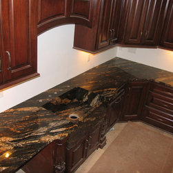 Magma Gold Mitered Sink - www.CustomMarbleGranite.com