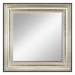 Paragon - Silver Icon - Mirrors Decorative - Each product is custom made upon order so there might be small variations from the picture displayed. No two pieces are exactly alike.