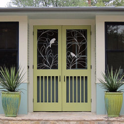 Contemporary Screen Doors -