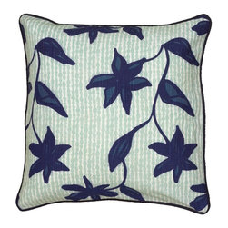 Rizzy Home - Rizzy Home Printed with Floral Cording Details Decorative Throw Pillow Multicolo - Shop for Pillows from Hayneedle.com! Traditional in design the Rizzy Home Printed with Floral Cording Details Decorative Throw Pillow showcases a lovely floral design in shades of blue. The removable cover features a plush polyester insert hidden zipper and is made of 100% cotton slub.About Rizzy HomeRizwan Ansari and his brother Shamsu come from a family of rug artisans in India. Their design color and production skills have been passed from generation to generation. Known for meticulously crafted handmade wool rugs and quality textiles the Ansari family has built a flourishing home-fashion business from state-of-the-art facilities in India. In 2007 they established a rug-and-textiles distribution center in Calhoun Georgia. With more than 100 000 square feet of warehouse space the U.S. facility allows the company to further build on its reputation for excellence artistry and innovation. Their products include a wide selection of handmade and machine-made rugs as well as designer bed linens duvet sets quilts decorative pillows table linens and more. The family business prides itself on outstanding customer service a variety of price points and an array of designs and weaving techniques.