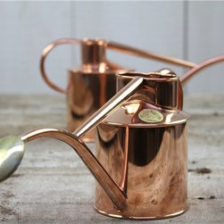 Copper Watering Can - I think I'd water my indoor plants more regularly if I had a watering can like this. It's pricey but it's something that would last quite a while, and I wouldn't be ashamed to have it out on display.