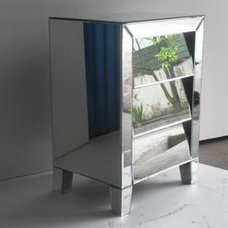 Modern Nightstands And Bedside Tables Decorative mirror furniture from Rongjing Glass