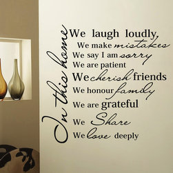 ColorfulHall Co., LTD - Kitchen Wall Art We Laugh Loudly - Kitchen Wall Art We Laugh Loudly