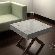 Contemporary Coffee Tables by VerteX Design Studio