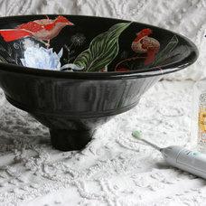 by Modern art sinks