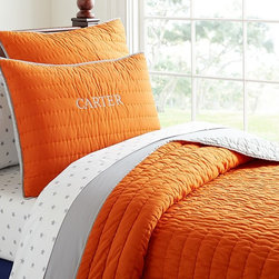 Branson Reversible Quilted Bedding - A warm and lofty quilt is a bedroom must-have. This versatile design will be a favorite for years to come.