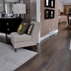 Contemporary Wood Flooring by Ralph's Hardwood Floors