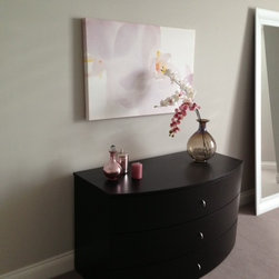 Luxury appartment in Glasgow, Scotland - GLAMOUR Chest of 3-drawers available in Lacquered ash, Mat lacquer and Gloss lacquer
