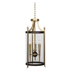 Robert Abbey - Warwick Pendant, Antique Brass - -3 - 60W Max.