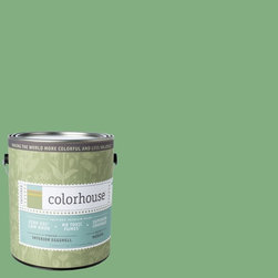 Inspired Eggshell Interior Paint, Thrive .05, Gallon - Colorhouse paints are zero VOC, low-odor, Green Wise Gold certified and have superior coverage and durability.   Our artist-crafted colors are designed to be easy backdrops for living. Colorhouse paints are 100% acrylic with NO VOCs (volatile organic compounds), NO toxic fumes/HAPs-free, NO reproductive toxins, and NO chemical solvents.