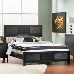 Coaster - Grove Eastern King Size Bed - The timeless design and unique wood grain of the Grove bedroom collection makes this set a simple choice. Made from select hardwoods and Okume veneers.