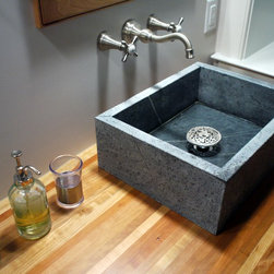 Soapstone Vessel Sink : ... soapstone sinks are best described as