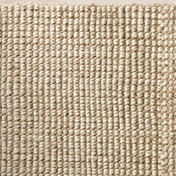 Chunky Wool & Natural Jute Rug - Instead of a traditional rug, add a wool and natural jute rug for a more earthy feel. I bought this jute rug last year for our living room and it has held up nicely.