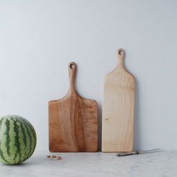 Favorite Board - Instead of traditional platters, I love using cutting boards for serving. They're perfect for cheese and breads, as well as fruit, meat, grilled veggies, etc.