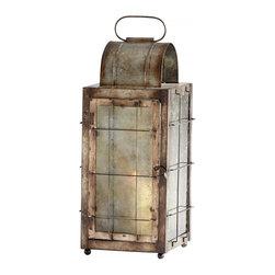 Joshua Marshal - Rustic Old Timer Candleholder - Rustic Old Timer Candleholder