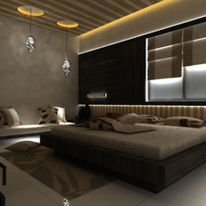 Modern Bedroom bed room