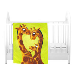 DiaNoche Designs - Throw Blanket Fleece - Tower Of Tenderness - Original Artwork printed to an ultra soft fleece Blanket for a unique look and feel of your living room couch or bedroom space.  DiaNoche Designs uses images from artists all over the world to create Illuminated art, Canvas Art, Sheets, Pillows, Duvets, Blankets and many other items that you can print to.  Every purchase supports an artist!