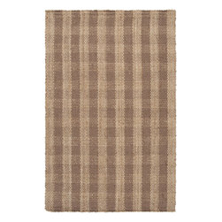 """Surya - Hand Woven Country Jutes Rug CTJ-2026 - 3'6"""" x 5'6"""" - Another inspired ensemble from Country Living, the Country Jutes Collection exemplifies the essence of casual style. Hand-woven from all natural jute in monochromatic shades of beige, each rug combines fibers to create a variety of patterns that exude a simple elegance ideal for traditional to transitional interiors."""