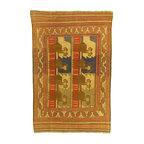 eSaleRugs - 6' 4 x 9' 2 Pictorial Sumak Rug - SKU: 22139460 - Hand Woven Pictorial Sumak rug. Made of 100% Wool. Brand New.