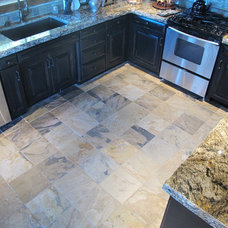 Traditional Floor Tiles by Northwest Tile & Floors