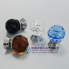 mediterranean knobs glass pulls