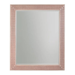 Stanley Furniture - Preserve-Cabot Mirror - Intricate Greek key carving frames the Cabot Mirror with intriguing style.
