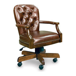 California House - erik swivel game chair (leather) - Manufactured in the USA, we are proud to offer our customers this premium game room furniture from a third generation, family-owned company.
