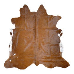 Decohides - Cowhide rug Visalia - This is a unique natural cowhide rug, you will receive the exact same hide as pictured.