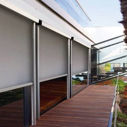 Outdoor - Outdoor Roller Shades giving us luxury!