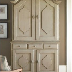 Paula Deen Down Home Complete Bar Cabinet - Sea Oat - Your well-appointed home deserves a well ...