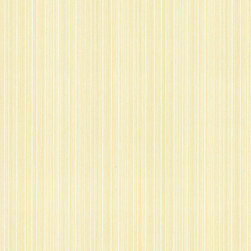 Brewster Home Fashions - Hettie Yellow Textured Pinstripe  Wallpaper. - Golden pinstripes line this intricately detailed wall covering. Pops of cream and olive can be seen trailing down its expanse creating a beautifully textured design.