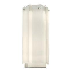 Sonneman - Sonneman 3181.01 Polished Chrome Velo 3 Light Wall Sconce with Glass Shade - Lamping Technology: