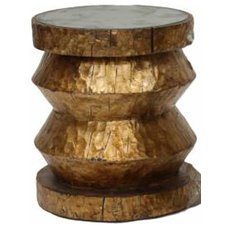 eclectic side tables and accent tables by Hazelnut New Orleans