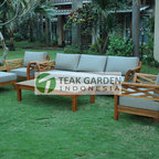 Teak Patio Furniture From Indonesia - Elegant design of teak patio furniture. Please visit http://www.teakgardenindonesia.com for more infos