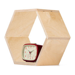 Natural Hexagon Bookshelf - Bees create hexagonal honeycombs because they are the most efficient use of space in crowded hives. You can do the same for your home with these honeycomb shelves. The unique shape makes it easy to display plants and books in the living room, personal mementos in the bedroom, or toiletries in the bathroom. Mix and match to create your own distinct setup so you'll feel like a queen bee in your home.