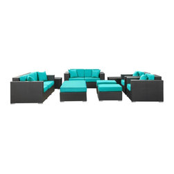 Patio And Outdoor Furniture - Outdoor Sofa Set