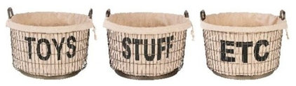 Eclectic Baskets by Masins Furniture