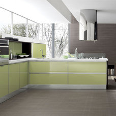 Modern Kitchen Cabinetry by EVAA Home Design Center