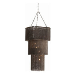 arteriors - Charlotte Chandelier - Been looking for that fringe chandelier? you've found it!