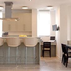 Contemporary Kitchen by Daniel Frisch Architecture Studio Program
