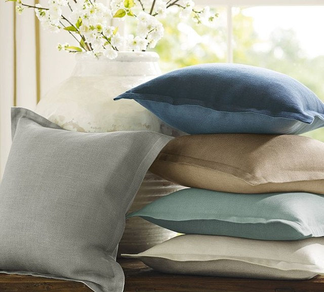 Traditional Decorative Pillows by Pottery Barn