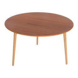 Vintage Danish Modern Heart Table -