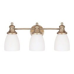 Capital Lighting - Capital Lighting 8203SA-238 Sable Ansley 3 Light Bathroom Fixture Vanity Light - Capital Lighting 8203SA-238 Ansley 3 Light Bathroom Vanity Fixture This Capital Lighting item comes in a sable finish. Works with three 75-watt frosted