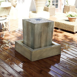 Gist Decor - Obtuse Water Fountain by Gist Decor -