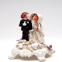 ATD - 6.5 Inch Red Hair Bride and Groom Intimate Moment Musical Statue - This gorgeous 6.5 Inch Red Hair Bride and Groom Intimate Moment Musical Statue has the finest details and highest quality you will find anywhere! 6.5 Inch Red Hair Bride and Groom Intimate Moment Musical Statue is truly remarkable.