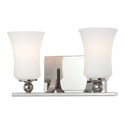 Minka Lavery - Minka Lavery 6622 2 Light Bathroom Vanity Light from the Ameswood Collection - Two Light Bathroom Vanity Light from the Ameswood CollectionFeatures: