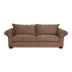 Chloe - Traditional Sofas and Couches Collection - The Sofa Company - With traditional charm and family-friendly comfort, Chloe offers a classic design with welcoming rolled arms and plush seat cushioning.